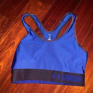 Under Armour Women's Blue Sports Bra